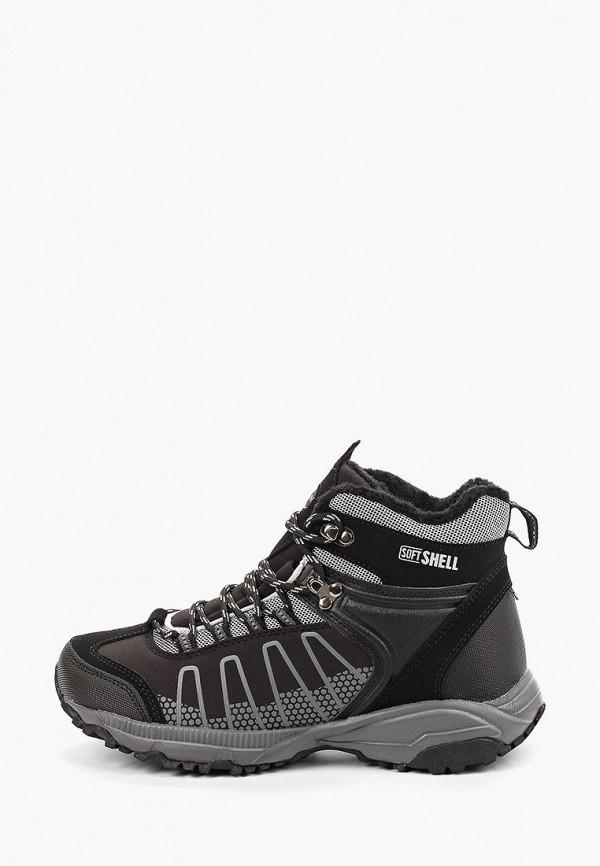 женские ботинки escan, черные