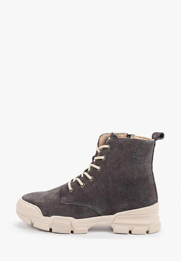 женские ботинки escan, серые