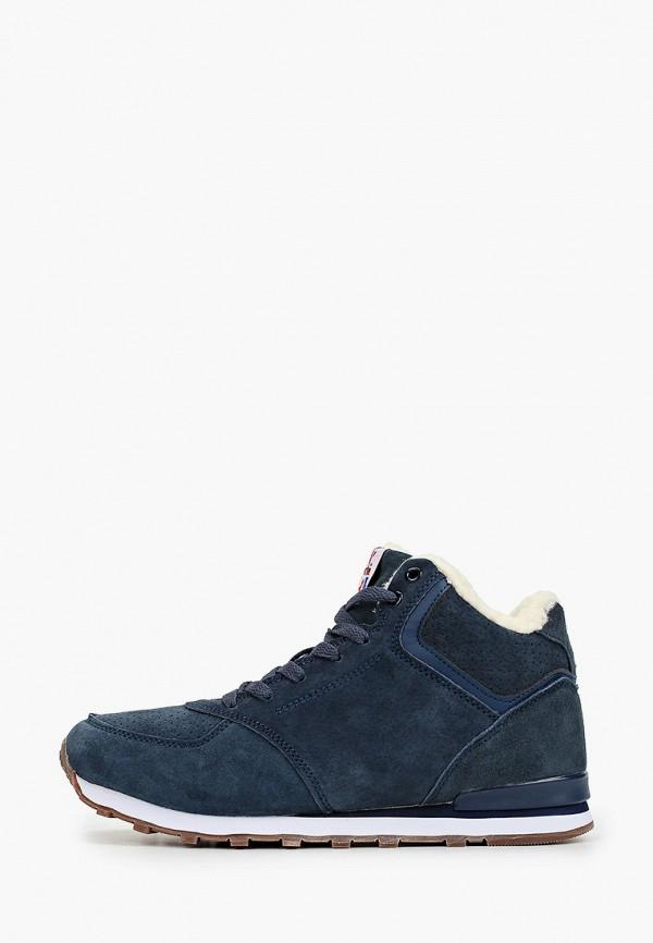 женские кроссовки escan, синие