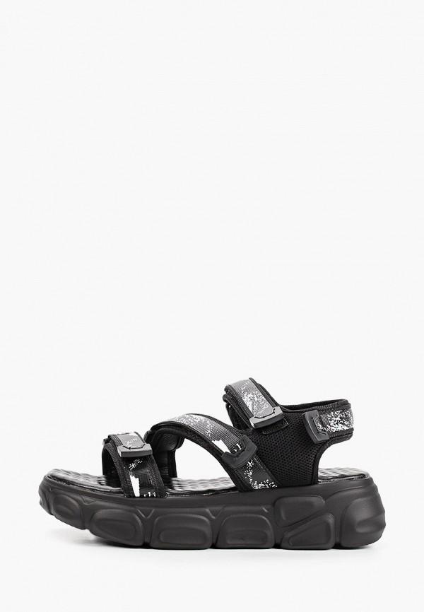 женские сандалии escan, черные