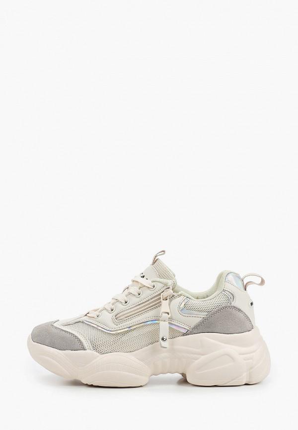 женские кроссовки escan, белые