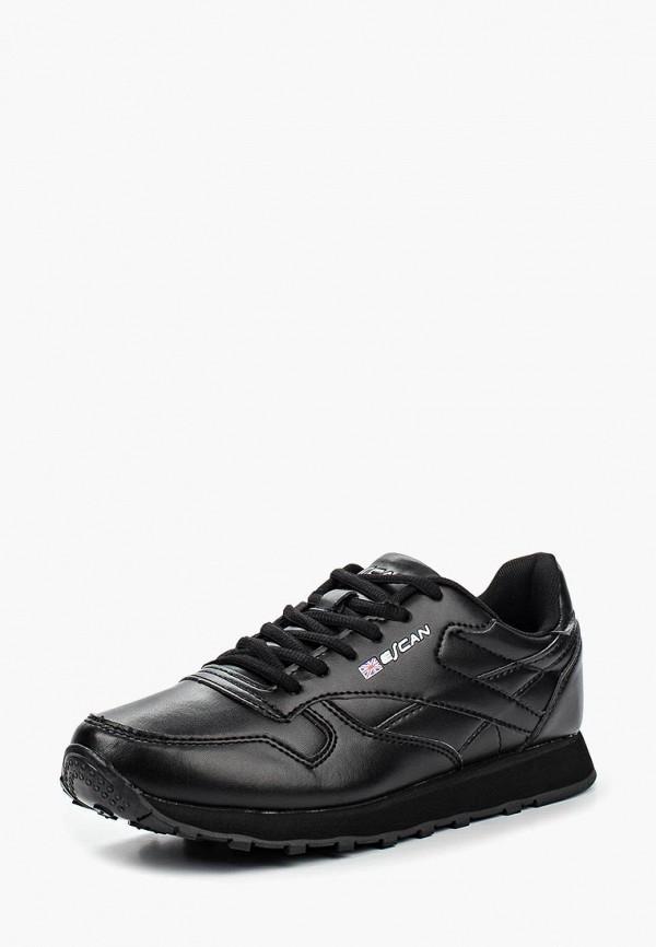 женские кроссовки escan, черные