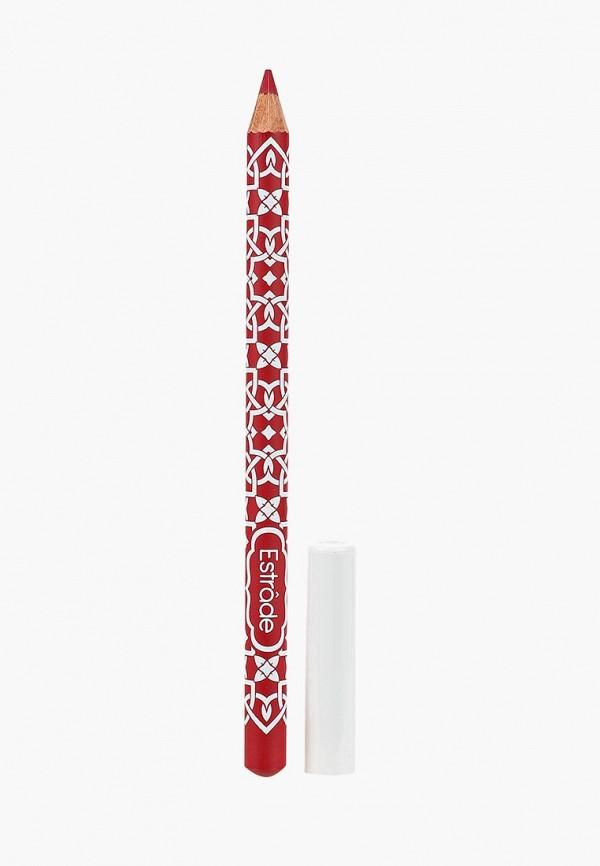 карандаш для губ estrade, красный