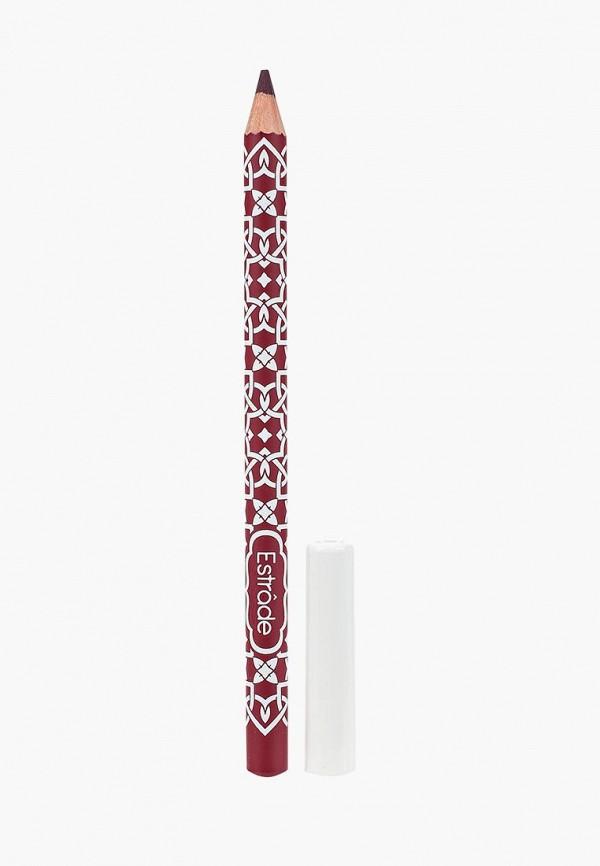 карандаш для губ estrade, бордовый