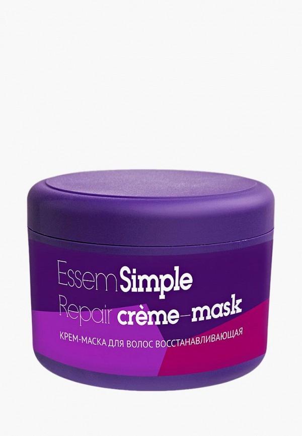 Купить Маска для волос Essem Simple, восстанавливающая, es025lweazw6, белый, Весна-лето 2019