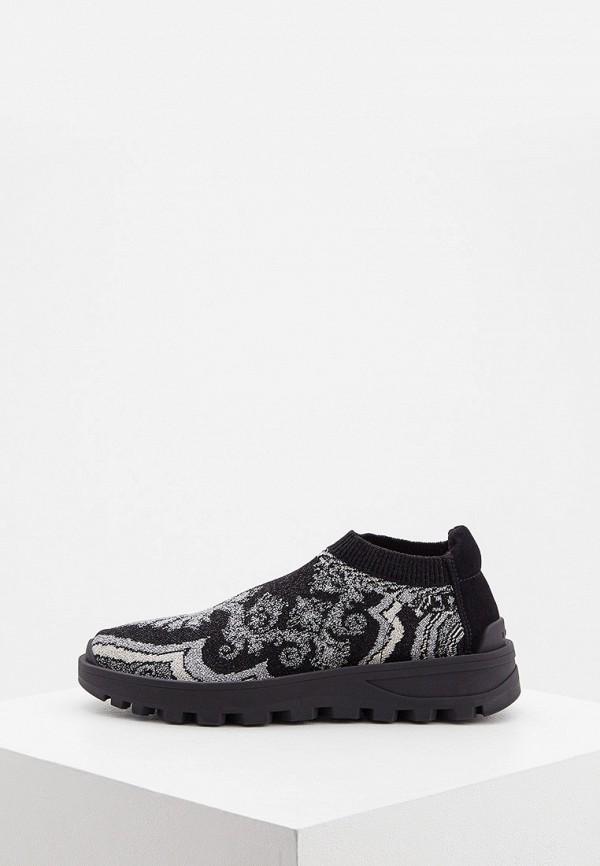 женские кроссовки etro, черные