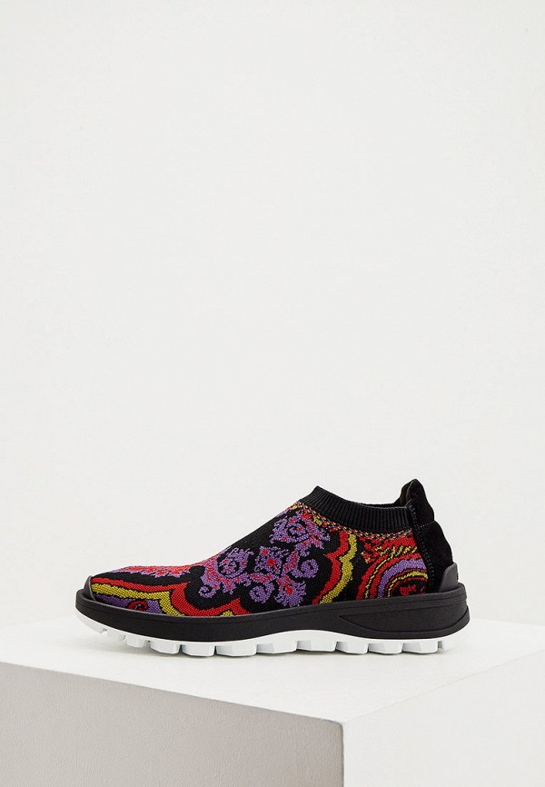женские кроссовки etro, разноцветные