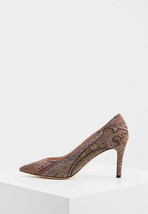 женские туфли etro, коричневые