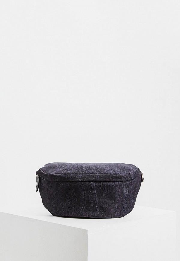 мужская сумка etro, синяя
