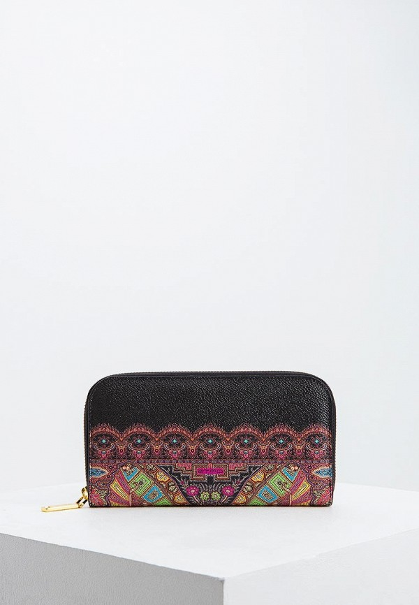 женский кошелёк etro, черный