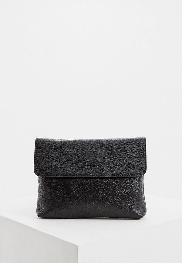 женская сумка etro, черная