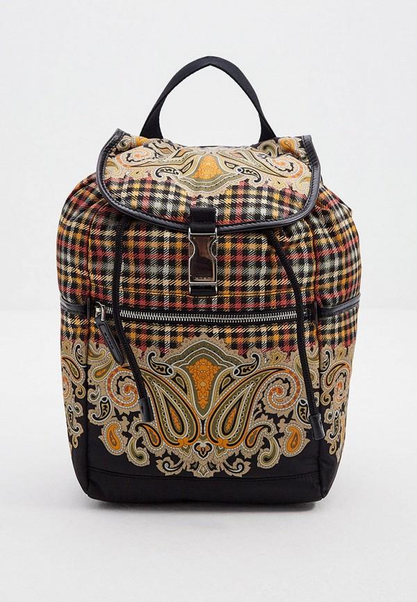 женский рюкзак etro, разноцветный