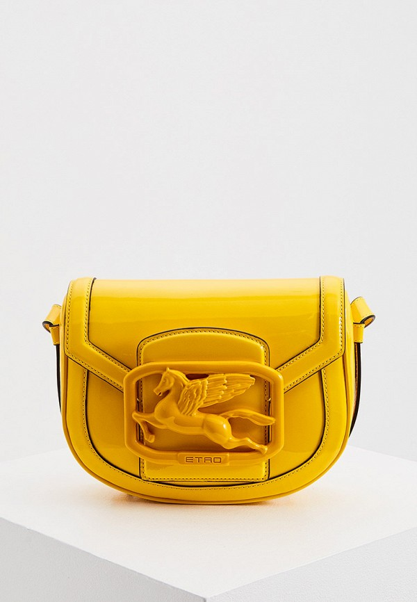 женская сумка etro, желтая