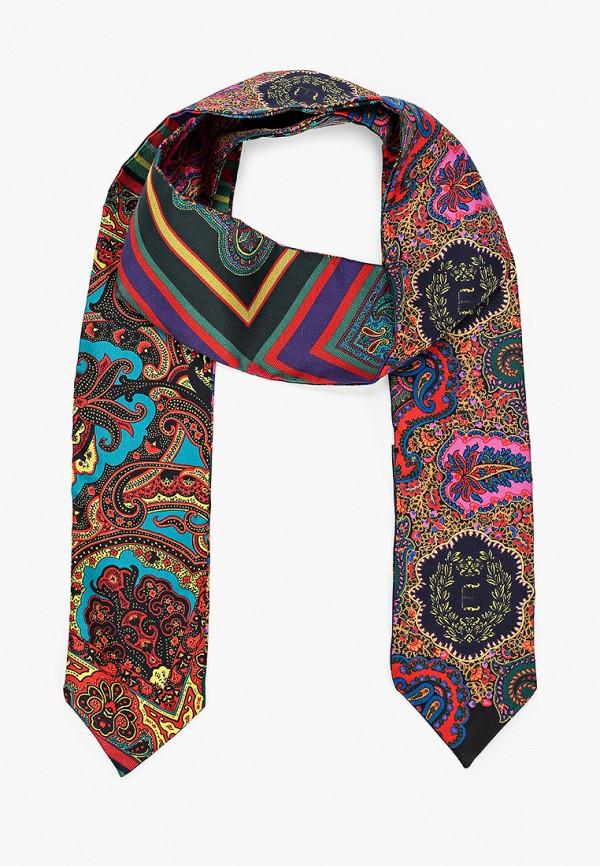 женский шарф etro, разноцветный