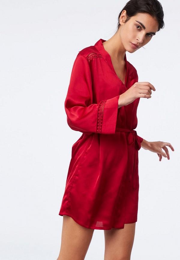 Атласные и кружевные халаты Etam
