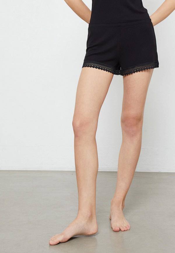 женские шорты etam, черные