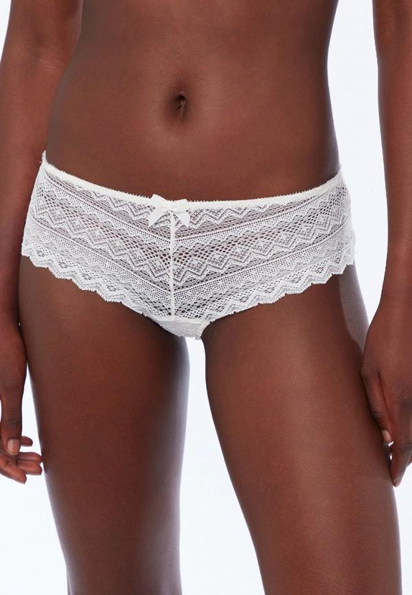 женские трусы-шорты etam, белые