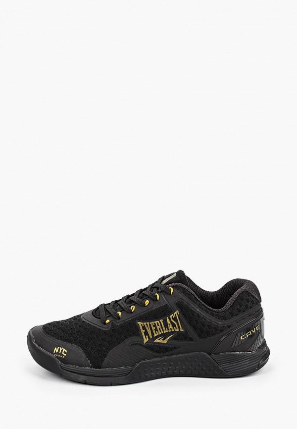 мужские кроссовки everlast, черные