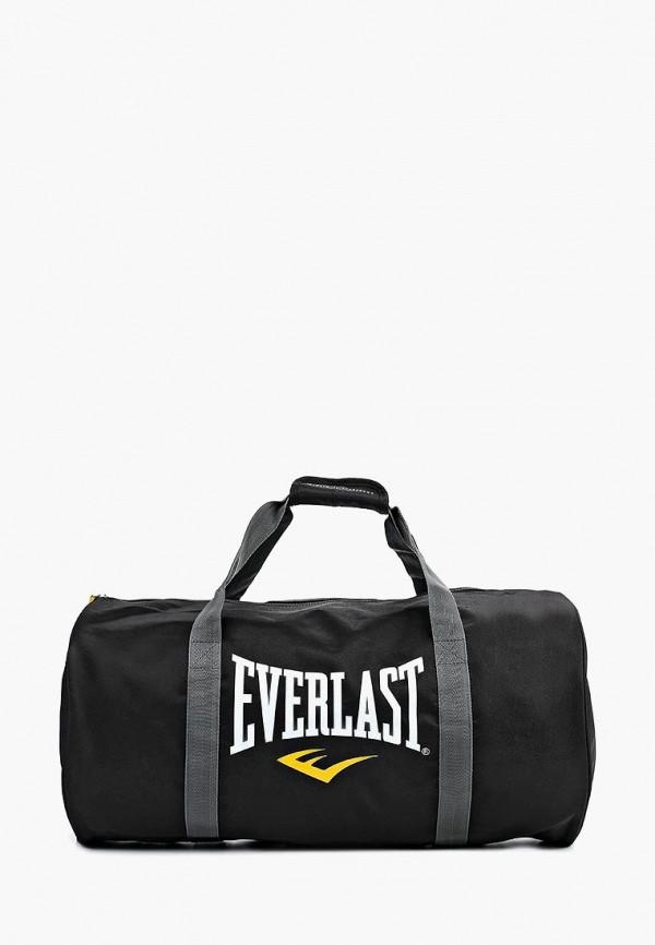 мужская сумка everlast, черная