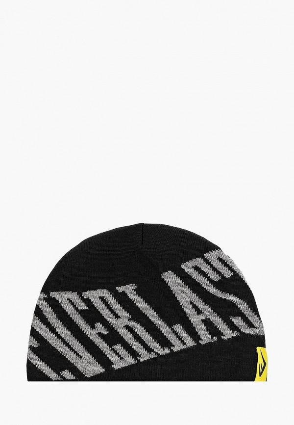 женская шапка everlast, черная