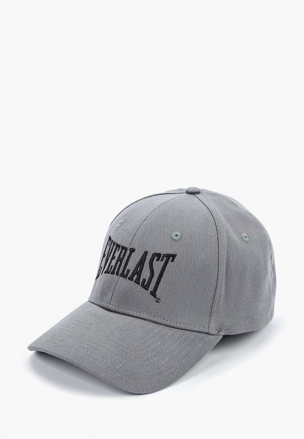 женская бейсболка everlast, серая
