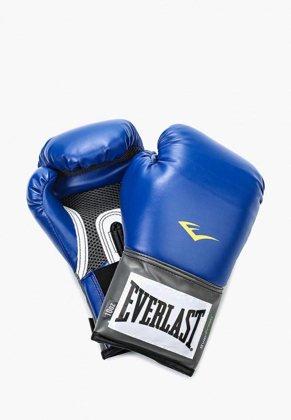 Перчатки боксерские Everlast Everlast EV001DUEKU14 перчатки тренировочные everlast mma grappling цвет синий белый размер l xl