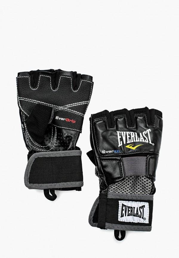 женские перчатки everlast, черные