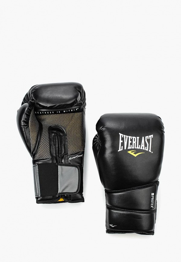 Перчатки боксерские Everlast Everlast EV001DUHIA21 перчатки тренировочные everlast pro style elite цвет черный 16 унций