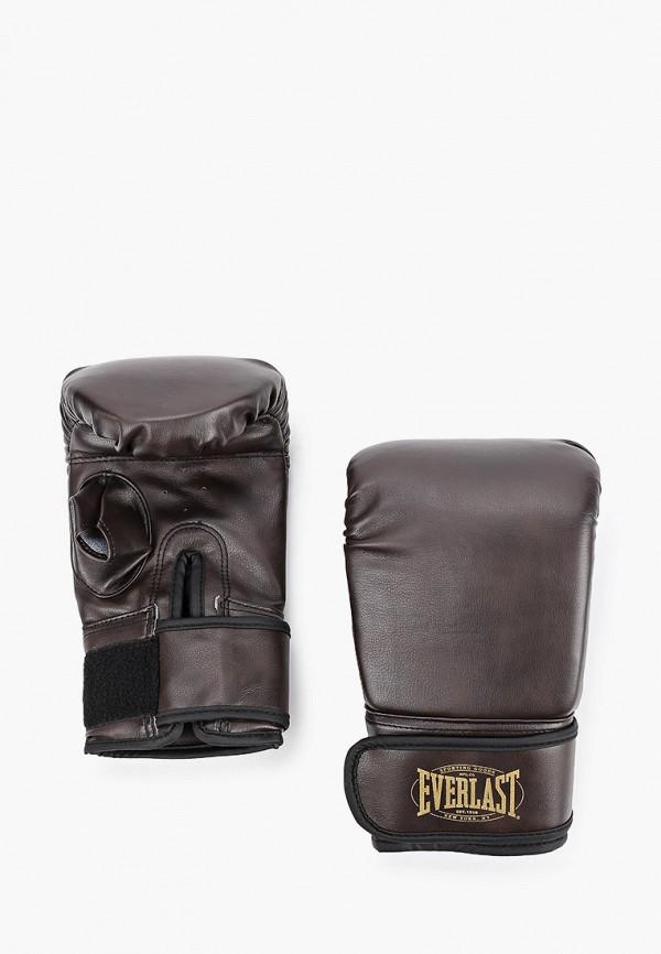 женские перчатки everlast, коричневые