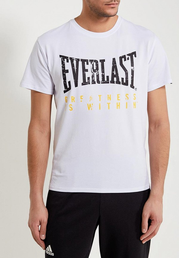 мужская футболка everlast, белая