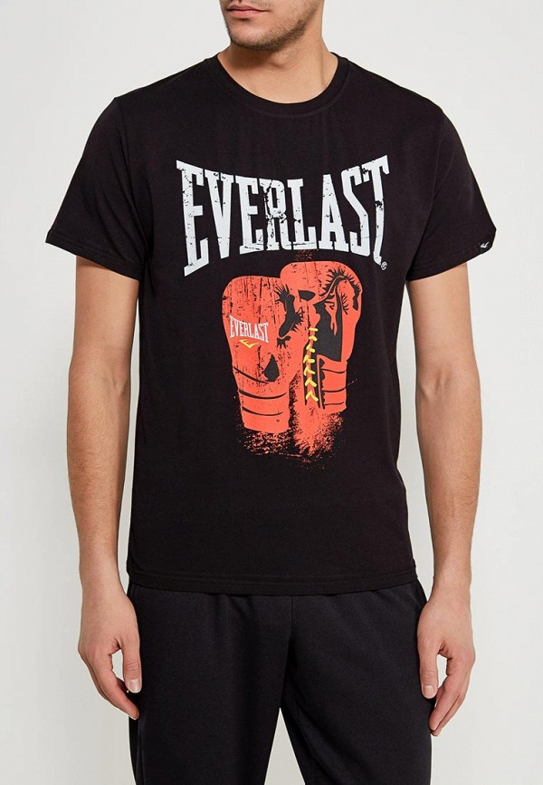 мужская футболка everlast, черная