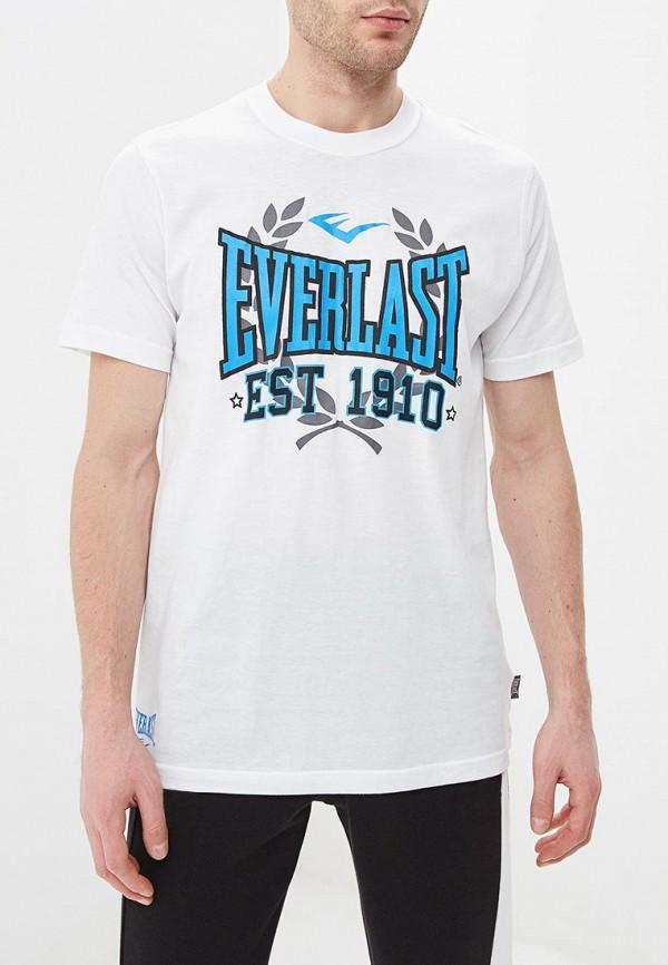 мужская спортивные футболка everlast, белая