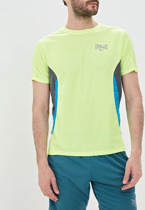 мужская спортивные футболка everlast, желтая