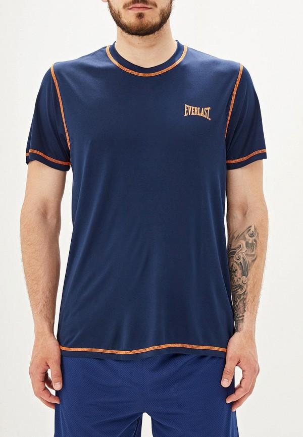 мужская спортивные футболка everlast, синяя