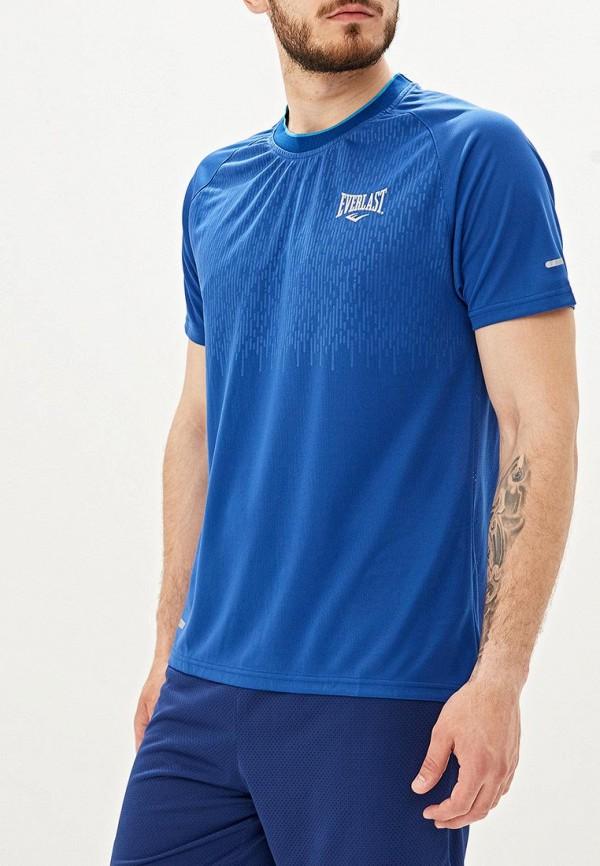 мужская футболка everlast, синяя