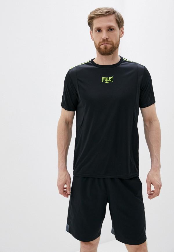 мужская спортивные футболка everlast, черная