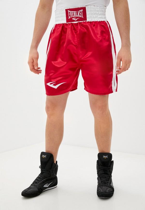 Шорты спортивные Everlast красного цвета
