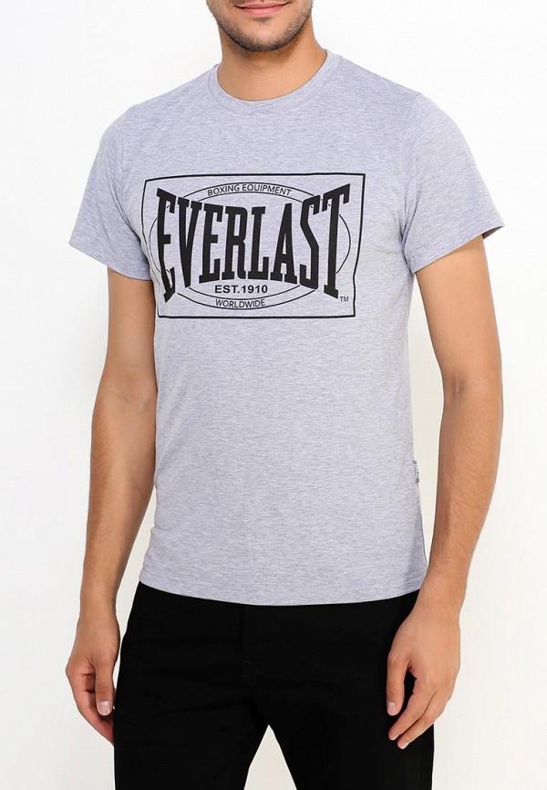 мужская спортивные футболка everlast, серая