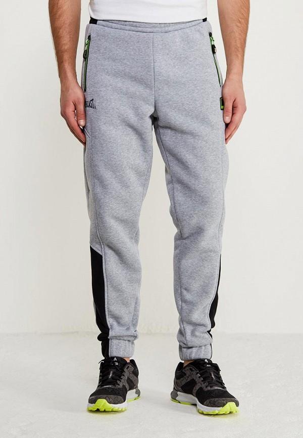 мужские спортивные спортивные брюки everlast, серые