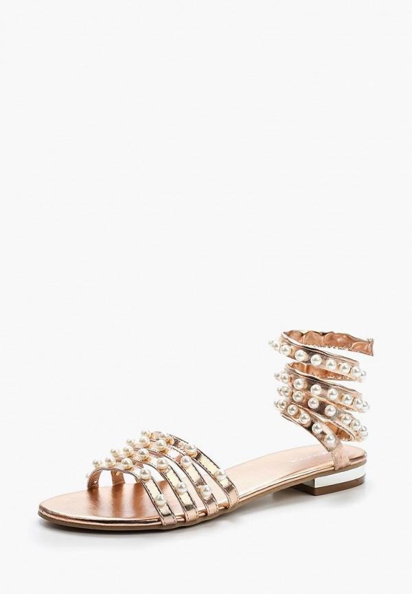 женские сандалии evita, розовые