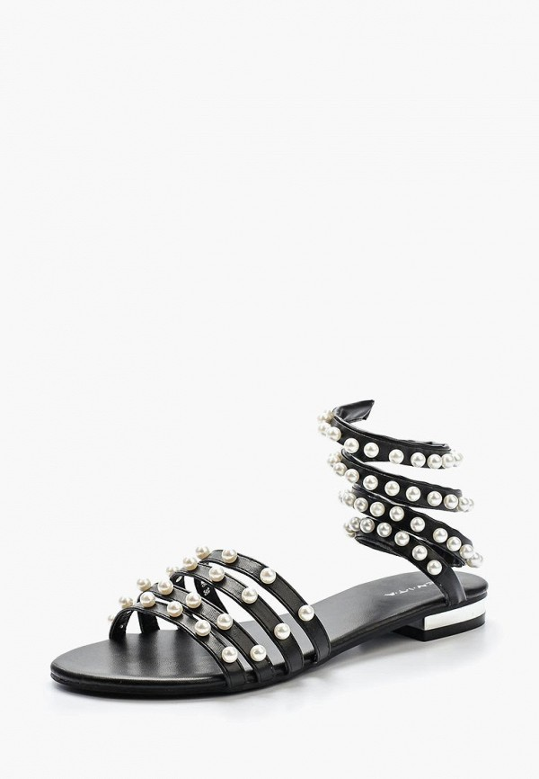 женские сандалии evita, черные