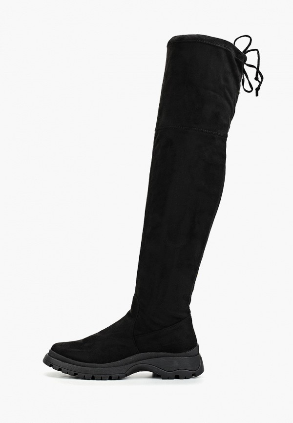 женские ботфорты evita, черные
