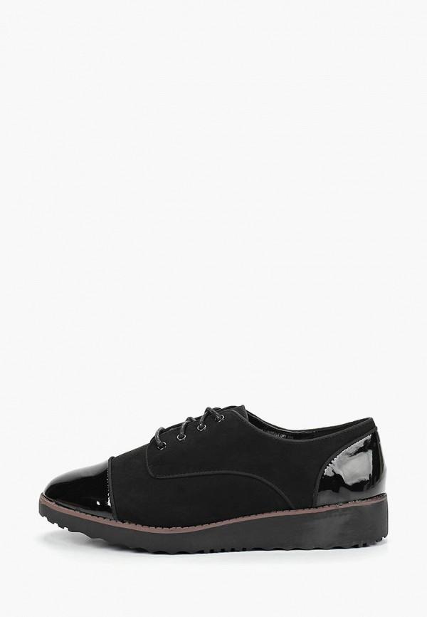 Фото - женские ботинки и полуботинки Evans черного цвета