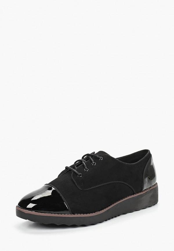 Фото 2 - женские ботинки и полуботинки Evans черного цвета