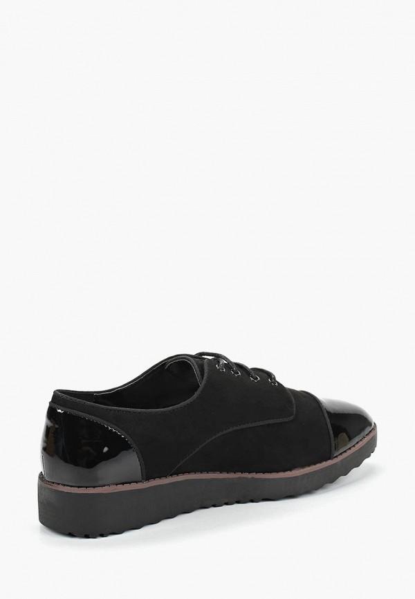 Фото 3 - женские ботинки и полуботинки Evans черного цвета