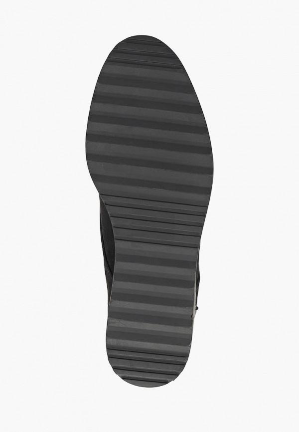 Фото 5 - женские ботинки и полуботинки Evans черного цвета