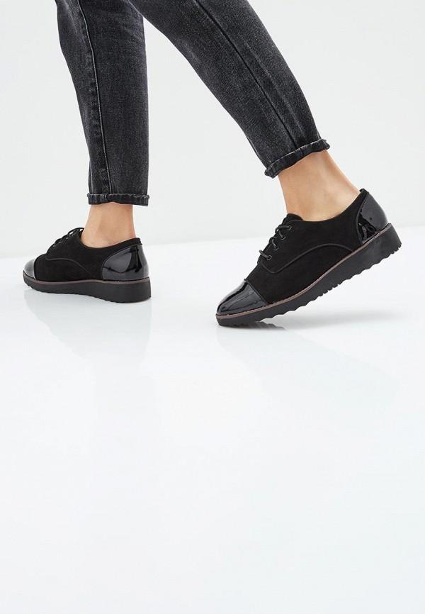 Фото 6 - женские ботинки и полуботинки Evans черного цвета