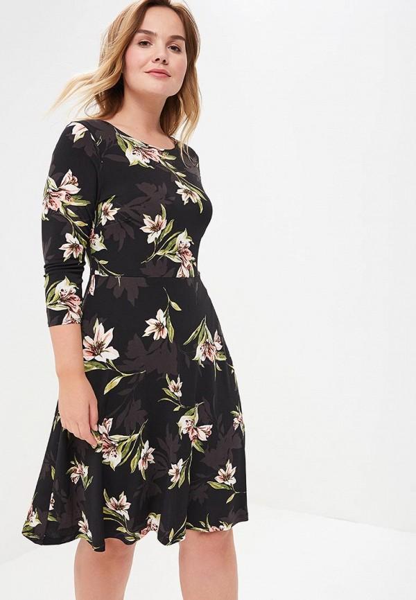 Купить Платье Evans, EV006EWBLXV0, черный, Весна-лето 2018