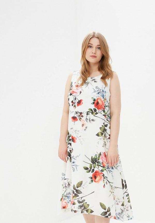 Фото - женское платье Evans белого цвета