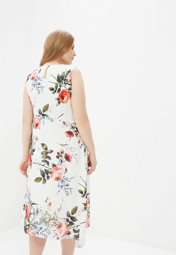 Фото 3 - женское платье Evans белого цвета